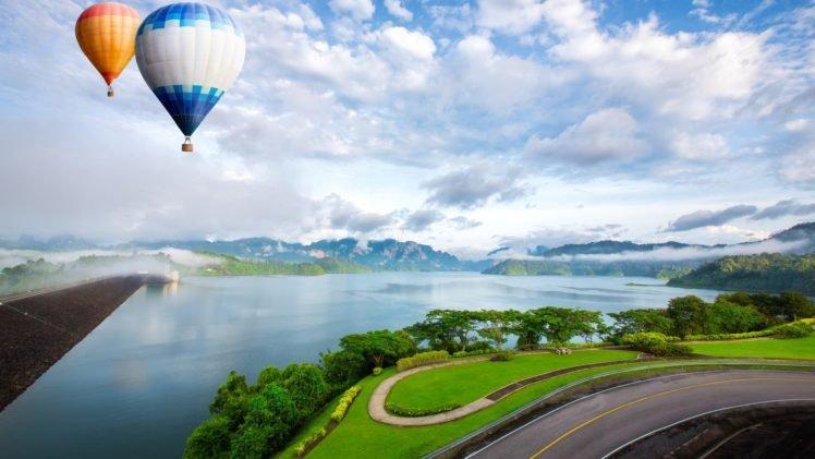 hot air balloons HD Wallpaper Desktop Background