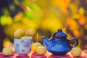 tea, Bokeh, Mugs
