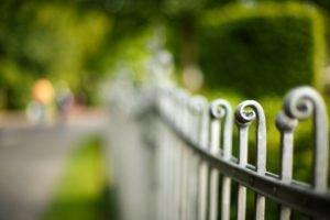 fence, Depth of field, Bokeh