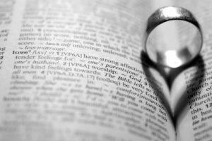 books, Rings, Macro