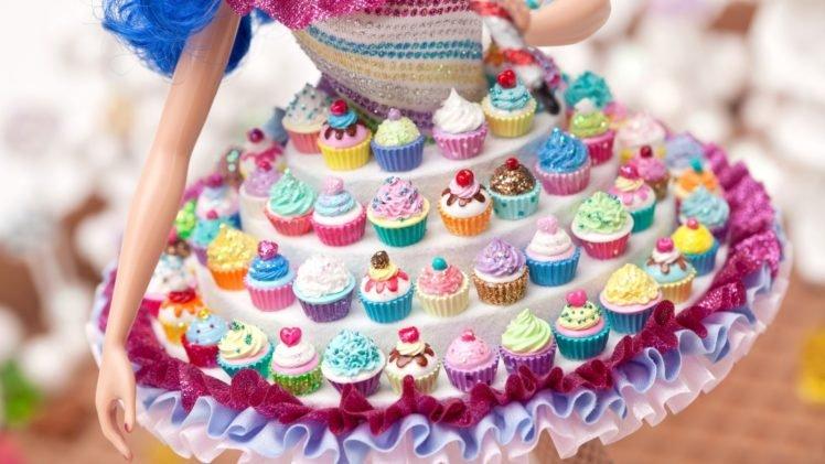 closeup, Cupcakes, Skirt HD Wallpaper Desktop Background