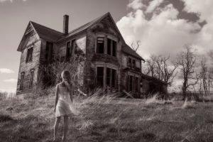 house, Monochrome