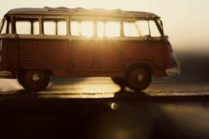 closeup, Blurred, Tilt shift, Sunlight, Vans, Toys