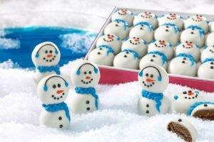 food, Snowman