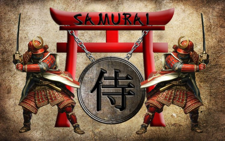 Samurai Shields Torii Hd Wallpapers Desktop And Mobile Images