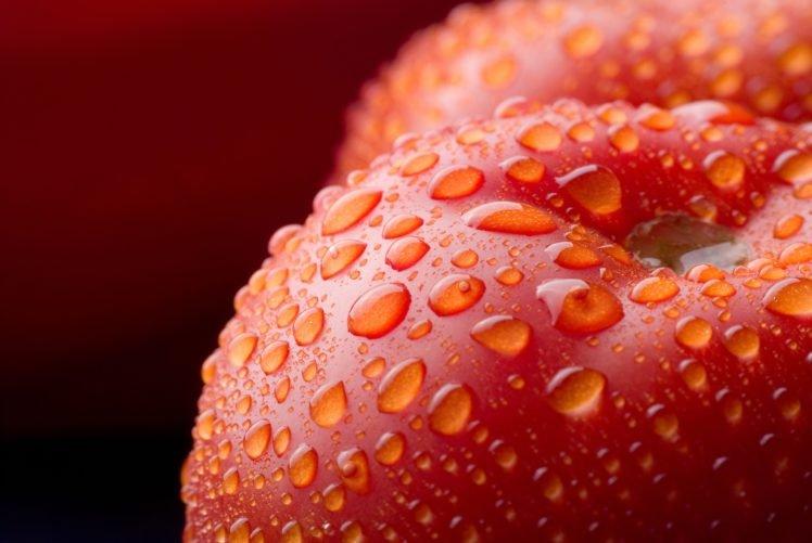 water drops, Food HD Wallpaper Desktop Background