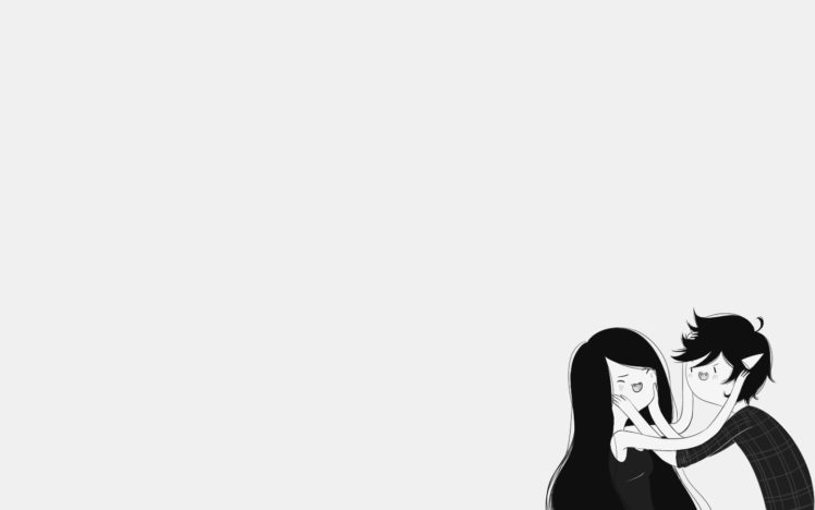 Adventure Time Marceline The Vampire Queen Marshall Lee HD Wallpaper Desktop Background