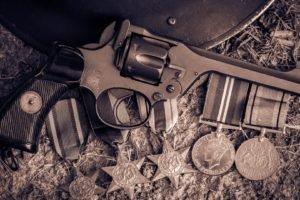 pistol, Weapon, Gun, Revolver, Webley Revolver