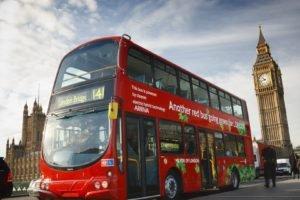 Big Ben, London, Buses, Doubledecker, Road, Clocktowers