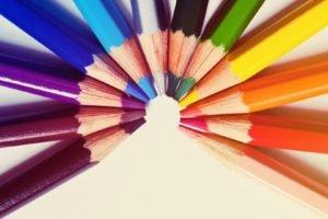 pencils, Colorful