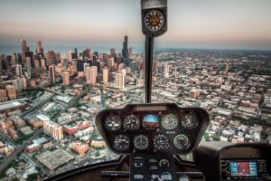 city, Airplane, Cityscape