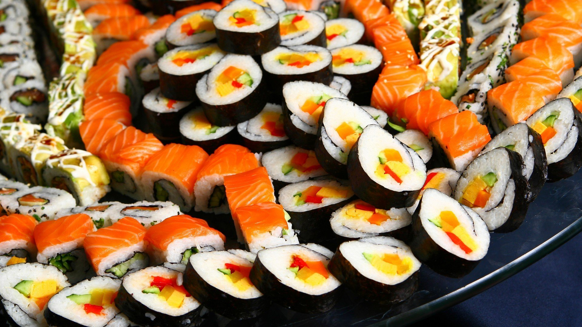 sushi, Food Wallpaper