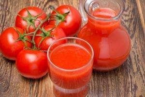 tomatoes, Juice, Table, Food
