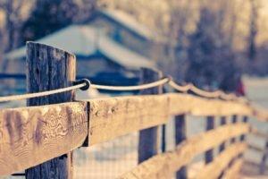 fence, Filter, Depth of field