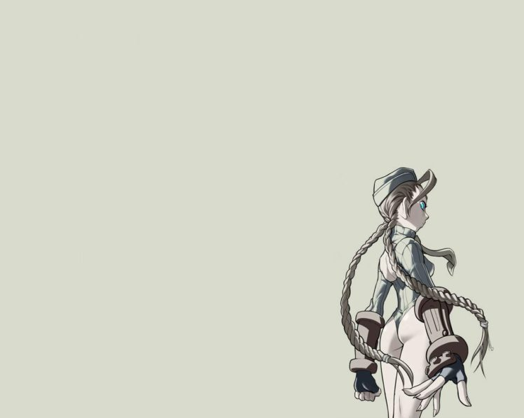Cammy White Street Fighter Simple Background Hd Wallpapers