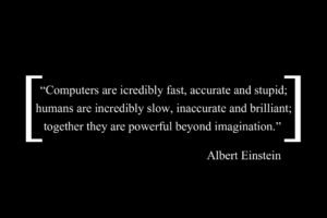 Albert Einstein, Typo