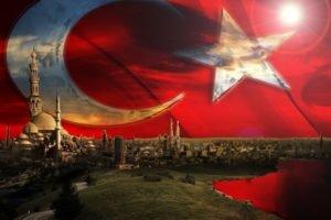 Turkey, Turkish, Flag