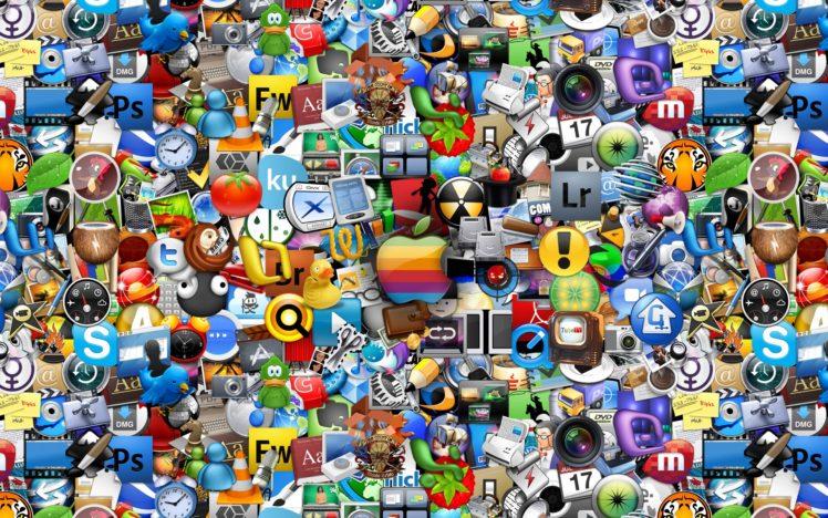 icons, Internet HD Wallpaper Desktop Background
