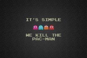 Pacman, Minimalism