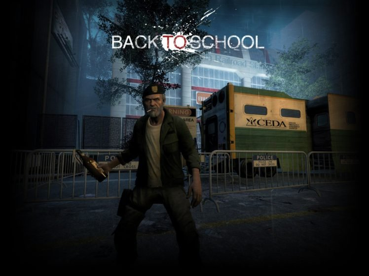 Left 4 Dead 2, Back To School, Game Mod, Weapon, Rifles