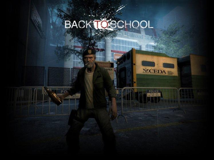 Left 4 Dead 2, Back To School, Game Mod, Weapon, Rifles, Left 4 Dead