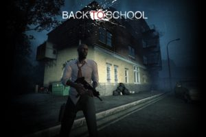 Left 4 Dead 2, Back To School, Game Mod, Steam (software), Weapon, Rifles, Left 4 Dead