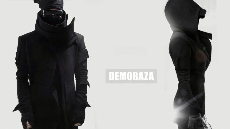 demo, Demobaza, Fashion, Belgium, Black clothing, Clothing, Futuristic, Hoods HD Wallpaper Desktop Background