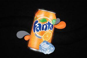 drink, Fanta, Can