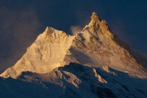 Nepal, Himalayas, Manaslu, Mountain