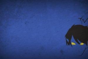 Nightcrawler, Minimalism, Blo0p, Blue background