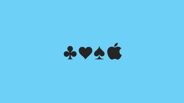 aces, Spades, Hearts, Apple Inc., Shamrock HD Wallpaper Desktop Background