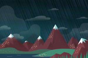 mountain, Minimalism