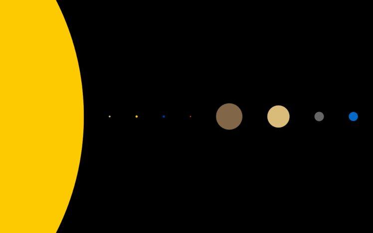 Solar System HD Wallpaper Desktop Background