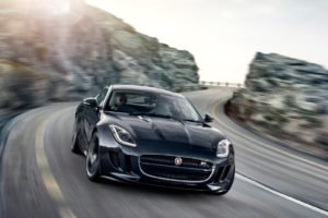 2015, Jaguar F Type, Coupe, Black, Road