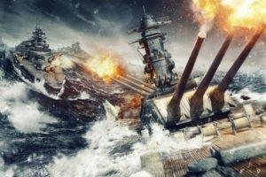 World of Warships, Ship, Battle