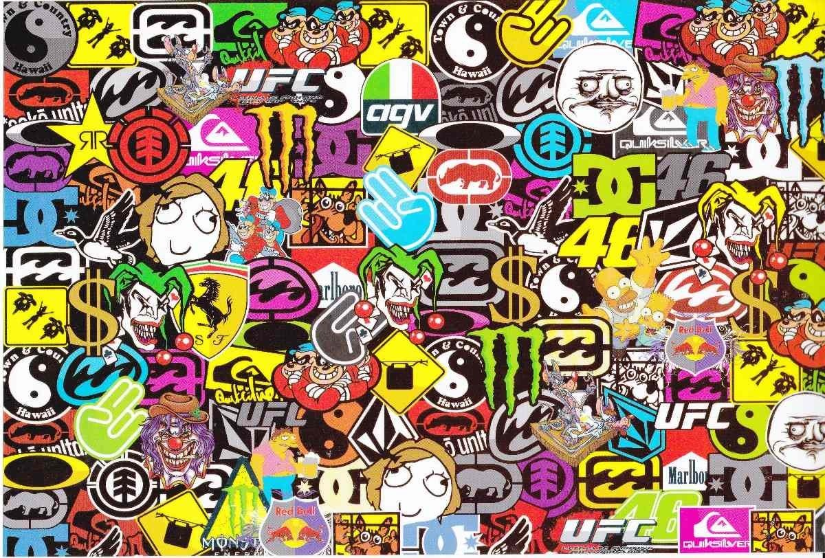 Sticker Bomb  Sticks  Bomb Hd Wallpapers    Desktop And Mobile Images  U0026 Photos