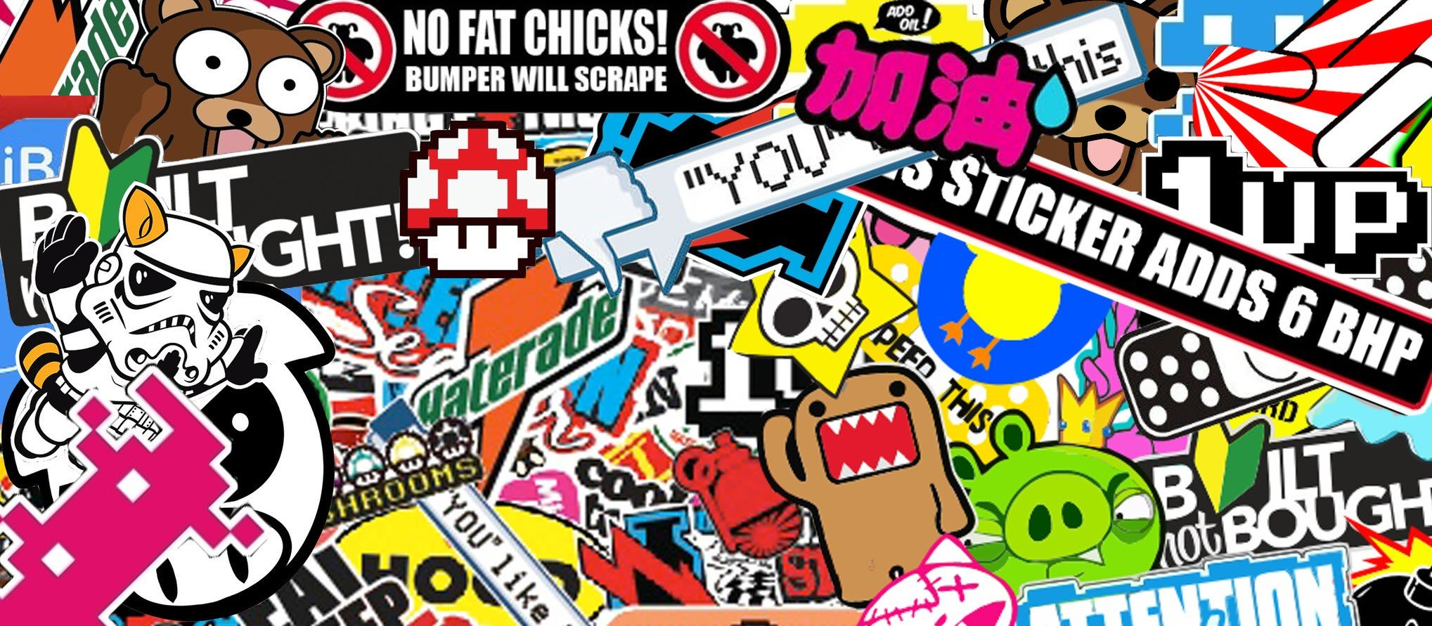 Sticker bomb sticks bomb hd wallpapers desktop and mobile images photos