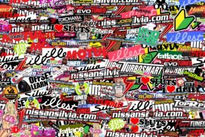 Sticker Bomb, Sticks, Bomb