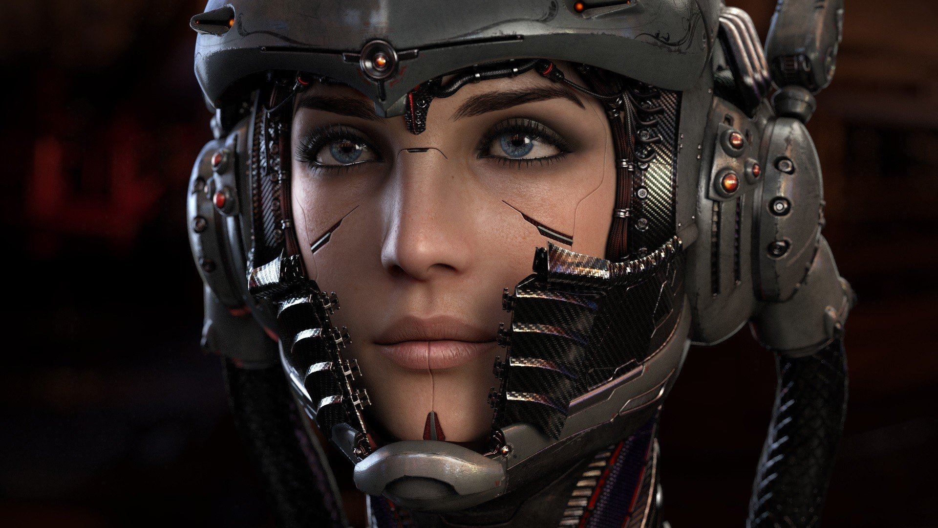 Cyberpunk, Cyborg, Helmet Hd Wallpapers  Desktop And -7649