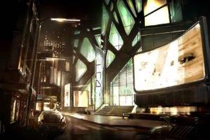 cyberpunk, Deus Ex: Human Revolution, Concept art