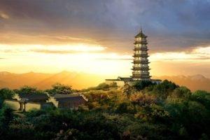 temple, Pagoda