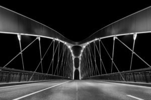 bridge, Frankfurt