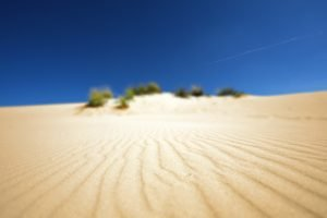 desert, Depth of field