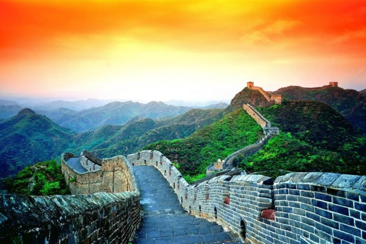 Great Wall Of China Hd Wallpapers Desktop And Mobile