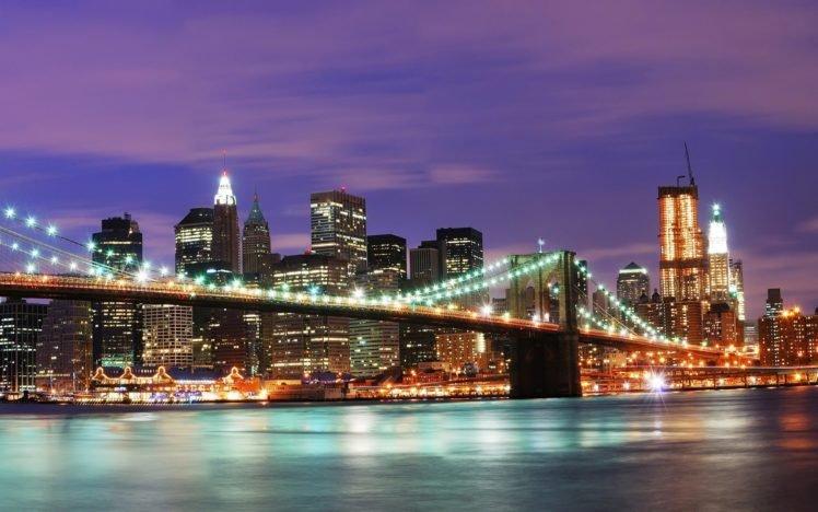 New York City, Brooklyn Bridge HD Wallpaper Desktop Background