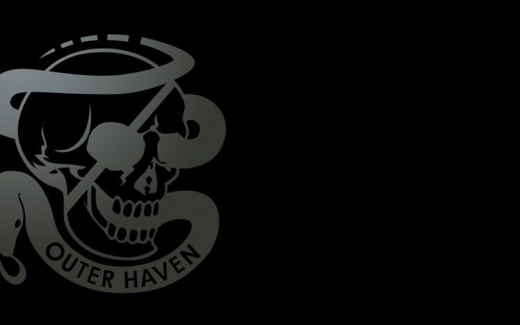 logo, Skull HD Wallpaper Desktop Background