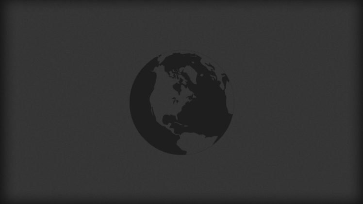 minimalism, Globes, World HD Wallpaper Desktop Background