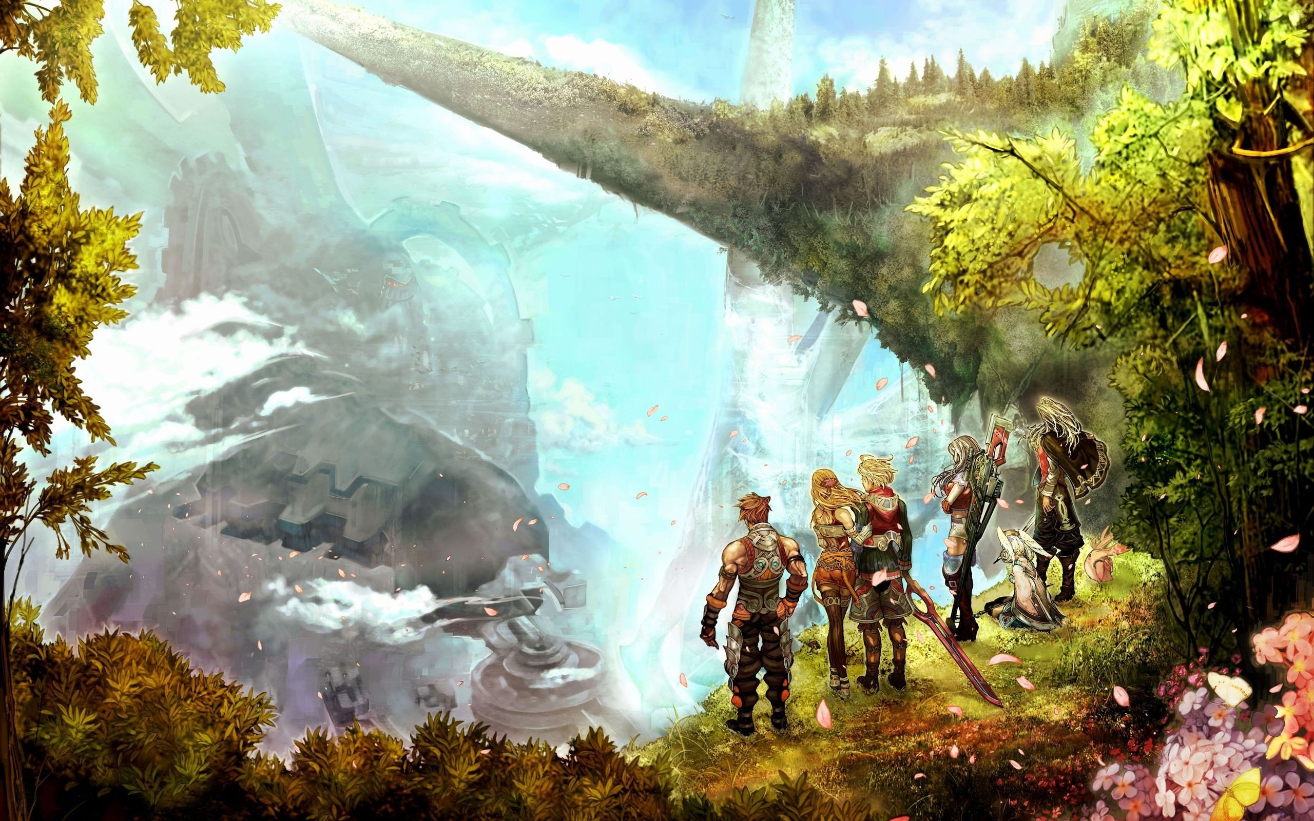 Xenoblade Chronicles Hd Wallpapers Desktop And Mobile Images