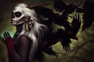 Sugar Skull, Crow