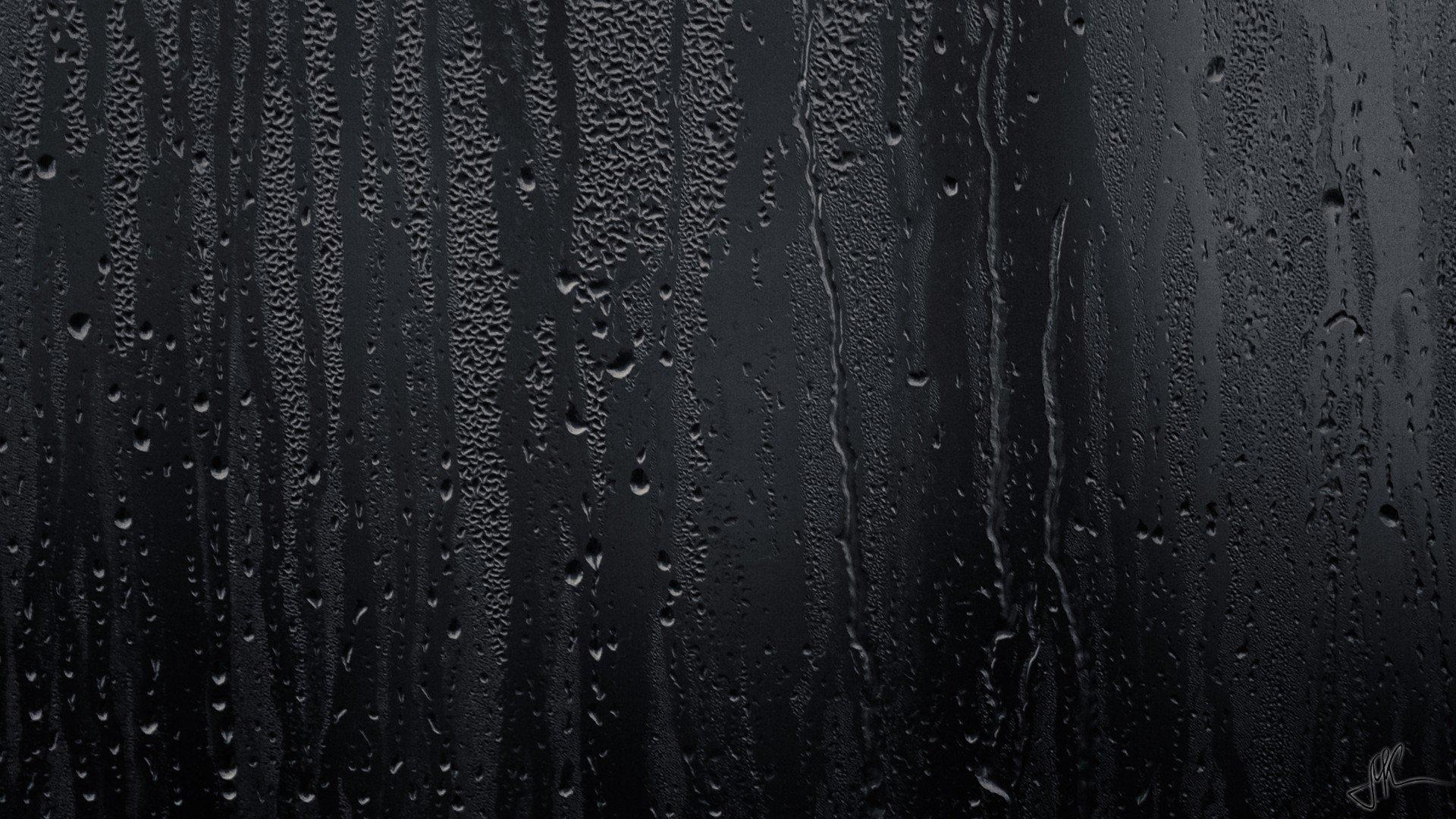 Rain Window Sill Water Drops Bokeh Window Water On Glass Hd